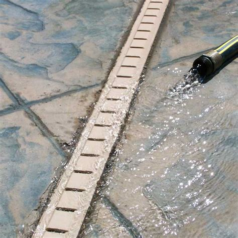 Pool Patio Drains by Stegmeier Deck Drains