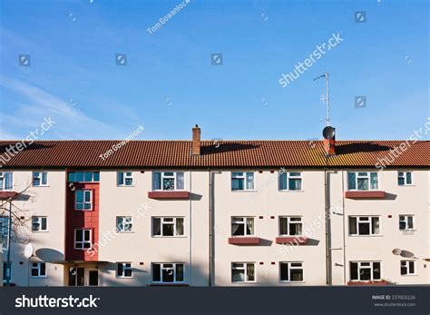 Appartments In Cambridge by A Building With Apartments In Cambridge Uk Stock Photo 237603226