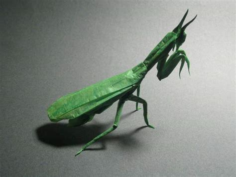 Origami Mantis - praying mantis