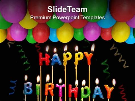 powerpoint 2010 birthday themes celebrate happy birthday with friends powerpoint templates