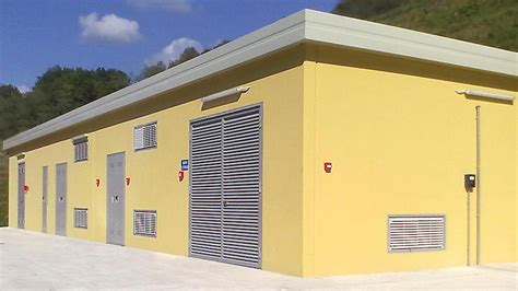 cabina elettrica cabine elettriche e gas cemeco
