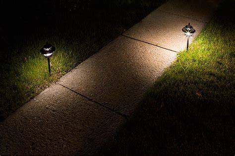 led landscape path lights dual tier 2 watt aluminum