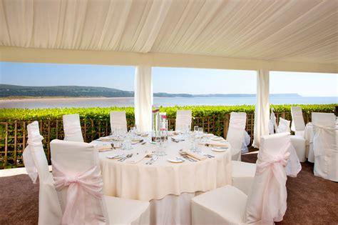 wedding hotels wedding venue gower sea view oxwich bay hotel swansea