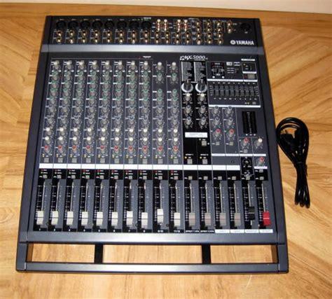 Power Mixer Yamaha Emx5000 yamaha emx5000 12 powered mixer 2 x 500w stereo s reverb