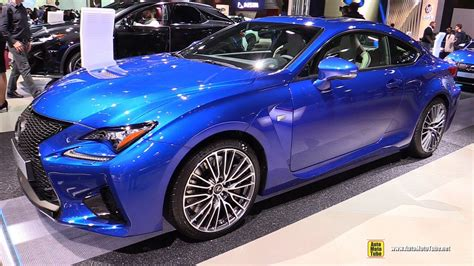 lexus rc f 2017 interior 2017 lexus rc f exterior and interior walkaround 2016