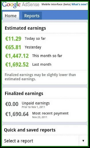 adsense mobile best google adsense android apps to check earnings stats