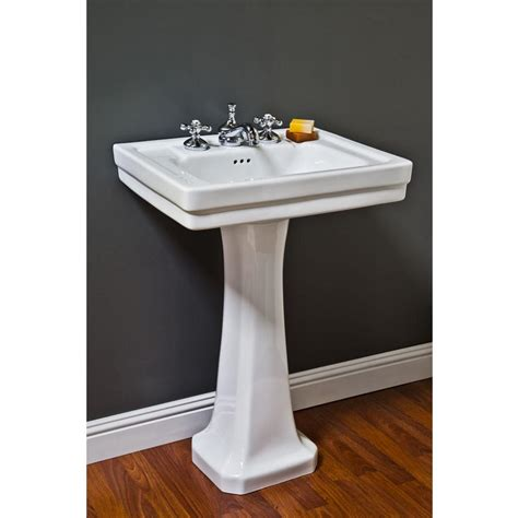 sinks pedestal bathroom sinks great western supply inc