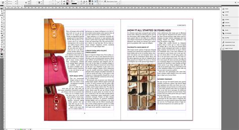 indesign tutorial for brochure tutorial create an a4 brochure in indesign 187 saxoprint