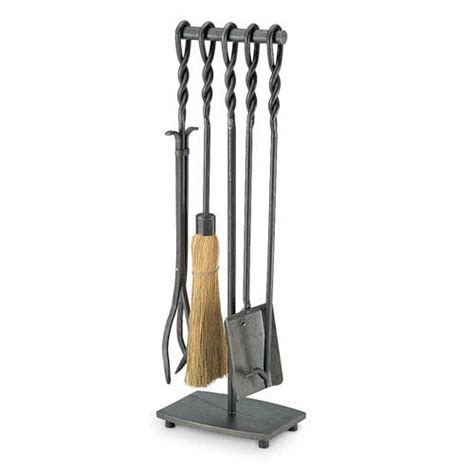iron fireplace tools wrought iron 5 soldier row fireplace tool set by pilgrim