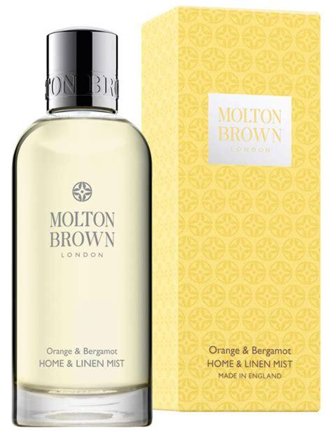 Morris Mist 100ml Orange molton brown orange bergamot home linen mist 100ml