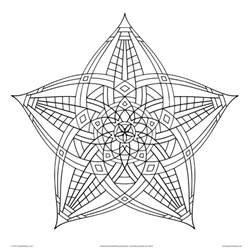 cool designs to color cool geometric designs coloring page