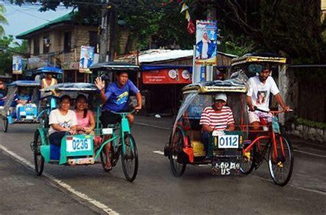 philippine pedicab transportation in manila