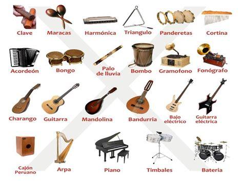 imagenes de instrumentos musicales y sus nombres lecturas primaria m 218 sica instrumentos