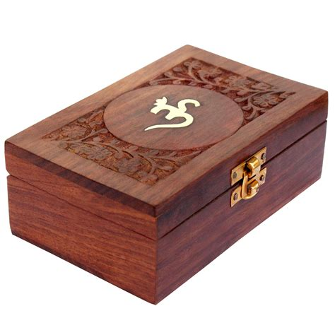 Handcrafted Box - itos365 handmade wooden keepsake storage jewelry box