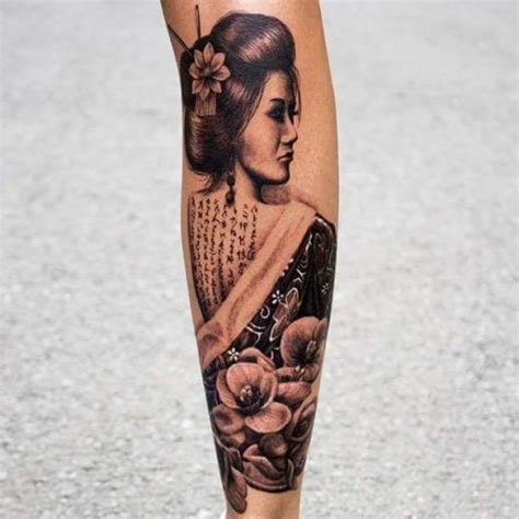 tattoo gueixa oriental tatuagem de gueixa veja as 41 lindas inspira 231 245 es e