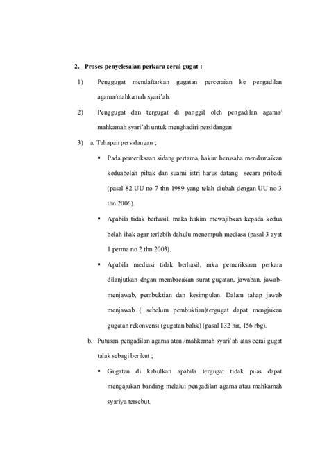 format surat gugat cerai suami contoh surat gugat cerai di pengadilan agama contoh