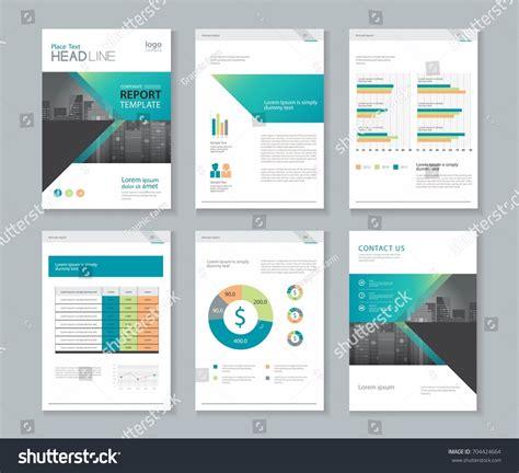 Annual Reports Templates For Companies Template Design Company Profile Annual Report Stock Vector
