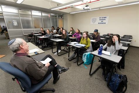 Sy Syms School Of Business Mba by Beyond The Bottom Line Yeshiva News