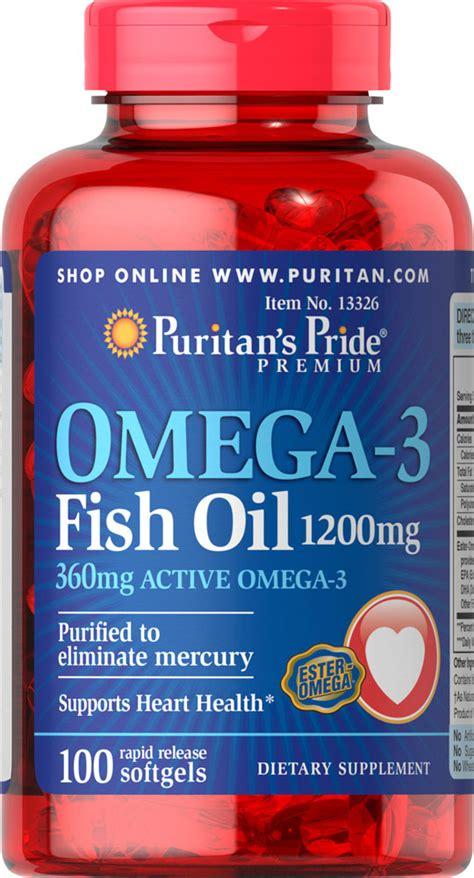 Puritan Omega 3 Salmon 500mg 100 Softgels متوفر حديثا