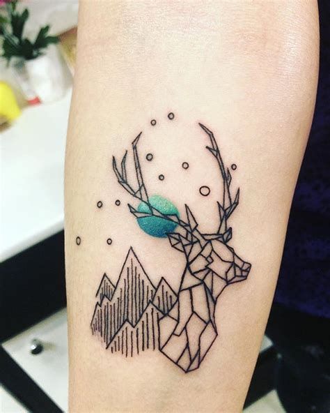 geometric tattoo bristol 25 best ideas about geometric deer on pinterest deer
