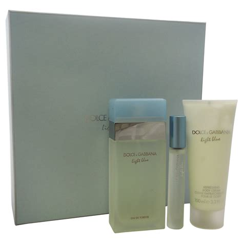 dolce gabbana light blue gift set upc 730870146989 light blue by dolce gabbana for women