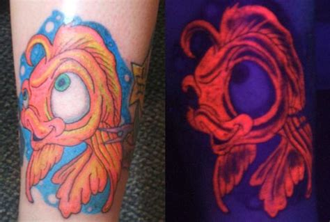 invisible ink tattoos blacklight tattoos some new uv tattoos