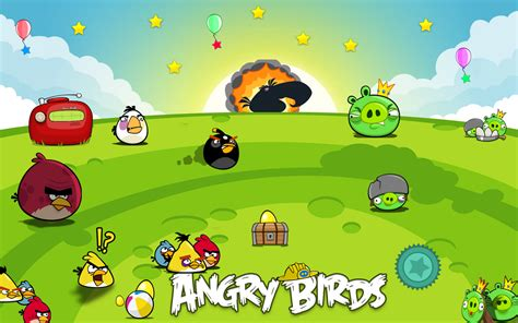 Angry Birds all about angry birds