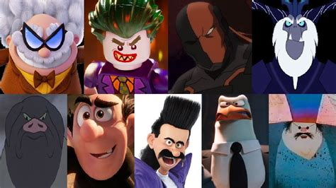 7 Of My Favorite by Defeats Of My Favorite Animated Non Disney Villains