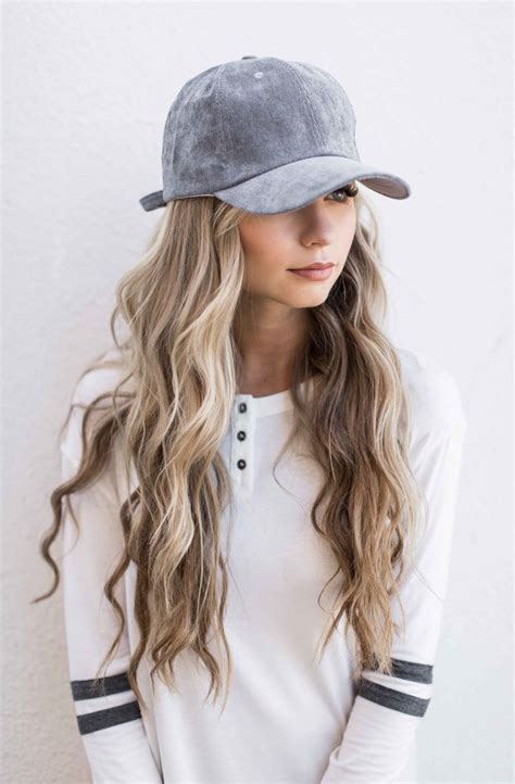 Hairstyles With Hats by 16 Best Hats Images On Hats Baseball Hat Hair