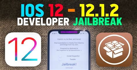 ios 12 12 1 2 jailbreak rootlessjb for iphone ipod