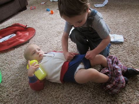 4 year old boy diaper change changes diapers that is all bad things must end