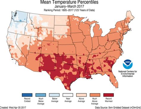 us weather map in march assessing the u s climate in march 2017 national