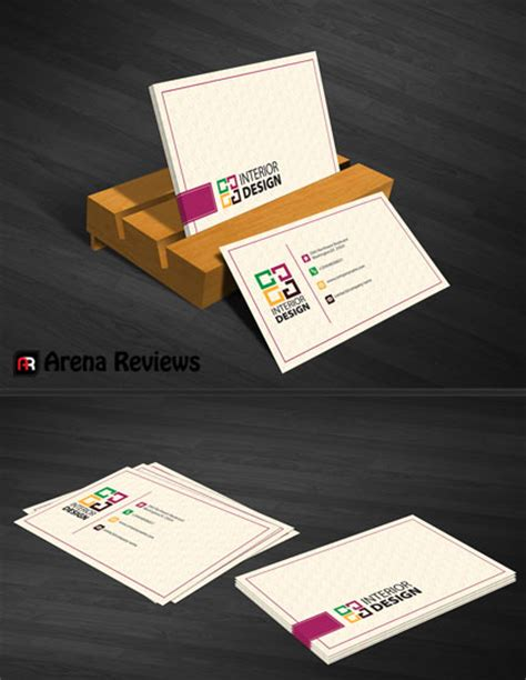 interior designer business card template interior design business card graphic design card template