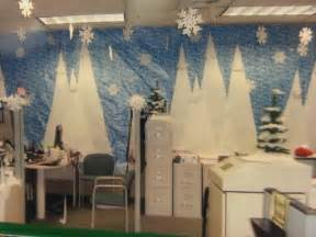 winter cube decorations office decor winter land decor winter