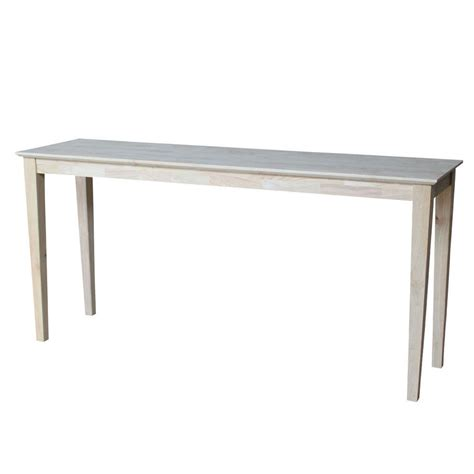 shaker console entry wooden table eco friendly