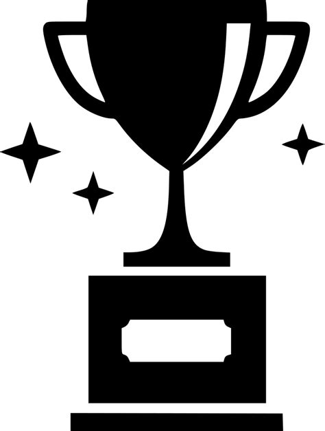 trophy svg png icon