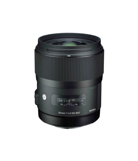 sigma 35mm f1 4 dg hsm i a canon mount price in india