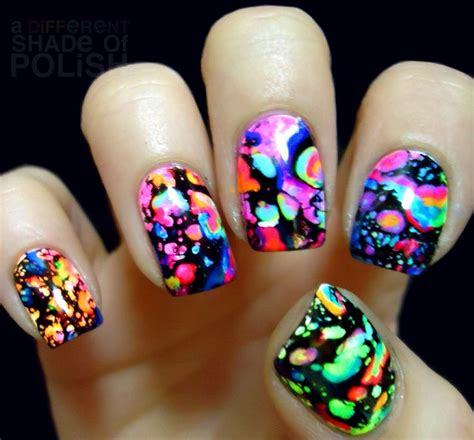 acrylic paint nails 25 best ideas about neon acrylic nails on