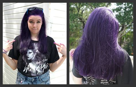 no bleach hair color how to dye your hair purple no bleach youtube