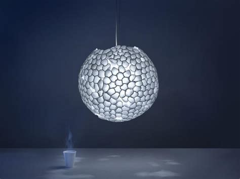Plastic Light Fixture Plastic Recycling Ideas Turn Glasses Into Modern Lighting Fixtures