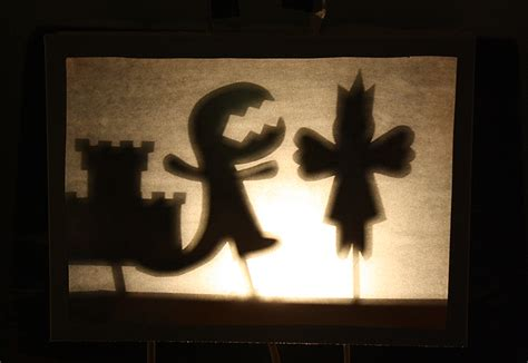 How To Make Shadow Puppets With Paper - shadow puppets in a cereal box theater 183 kix cereal