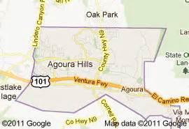 agoura california map agoura fence company builds fences in agoura