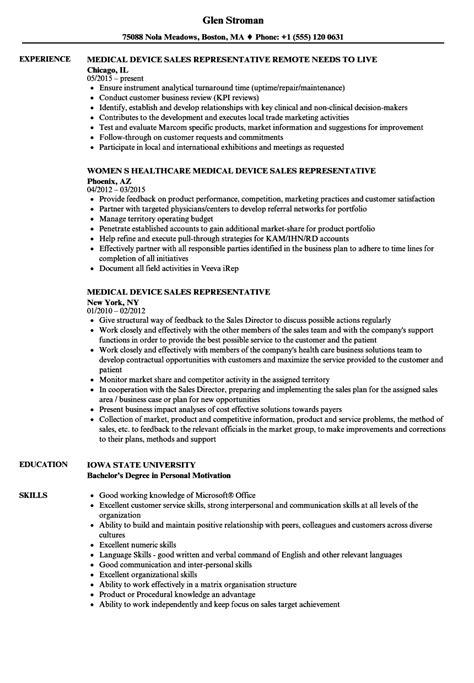 pharmaceutical sales resume sample medical sales resumes