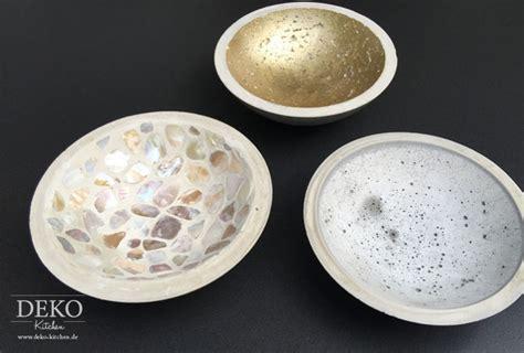 kaffee oder deko diy coole deko schalen aus kreativ beton deko kitchen