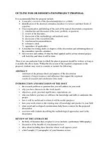 Dissertation Proposal Example Topics Dissertation Prospectus Outline