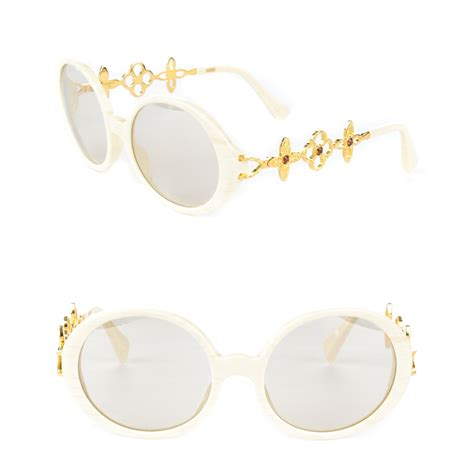 Louis Vuitton Ode Sunglasses by Louis Vuitton Ode Sunglasses Z0086w Ivory 166060