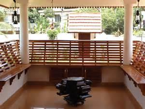 kerala home design veranda kerala interior design decorations and wood works