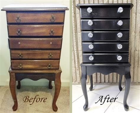 jewelry armoire makeover the jewelry armoire makeover