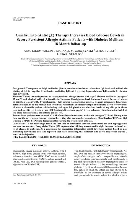 Links To Stalk 18 by Omalizumab Anti Ige Therapy Increases Pdf