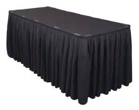 Buffet Table Skirts 20 Pack 21 Ft Polyester Banquet Table Skirting Skirt